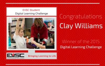 EVSC Student Digital Learning Challenge Winner!