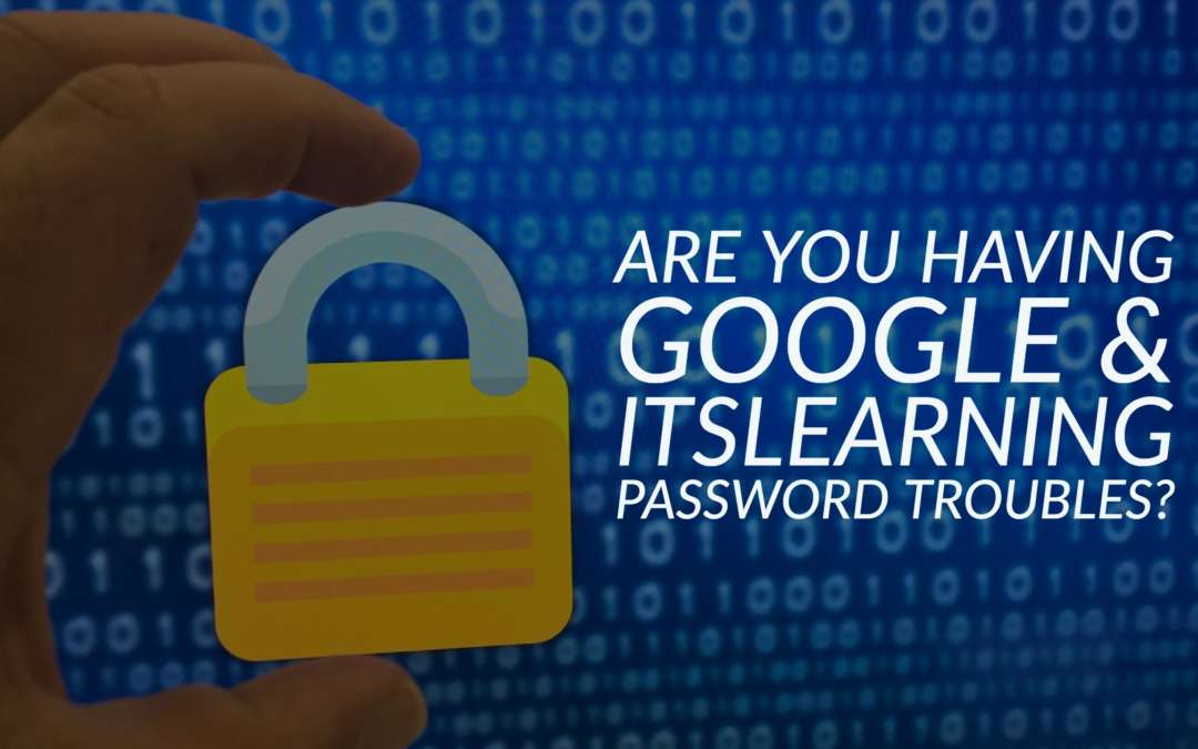 Here's how to get logged in to EVSC Google and itslearning