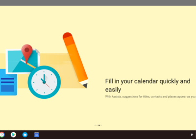 Fill in your calendar quickly and easily