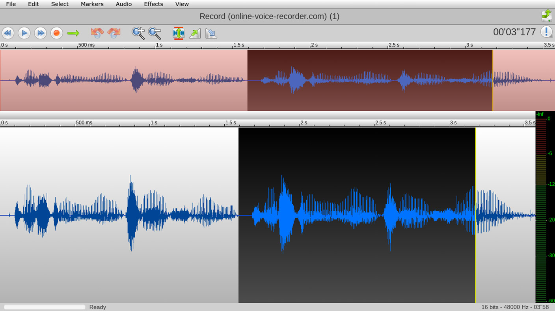 TwistedWave - Trim Audio