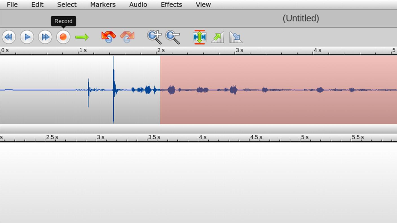 TwistedWave - Record Audio