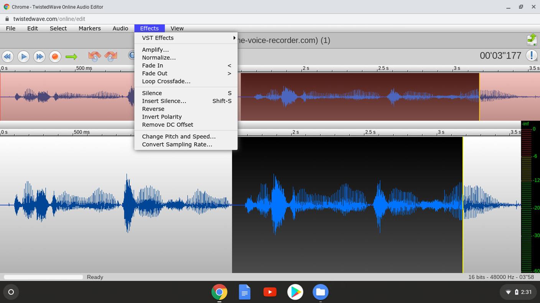 TwistedWave - Audio Effects